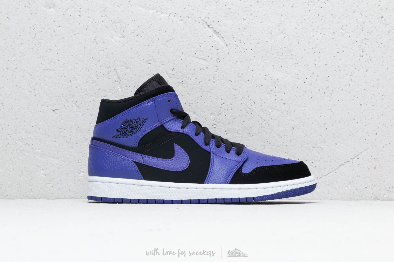 check out ee6fc afe9c ... czech air jordan 1 mid black dark concord white at a great price 128  558a6 e170e