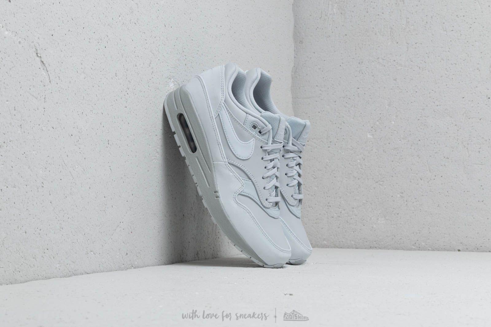 hot sale online d3e18 d45d8 Nike Wmns Air Max 1 LX Pure Platinum Pure Platinum at a great price £