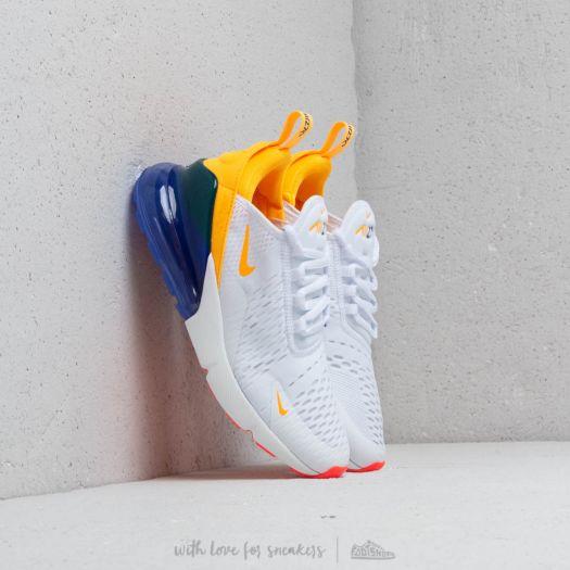 Nike W Air Max 270 White Laser Orange Hyper Violet | Footshop