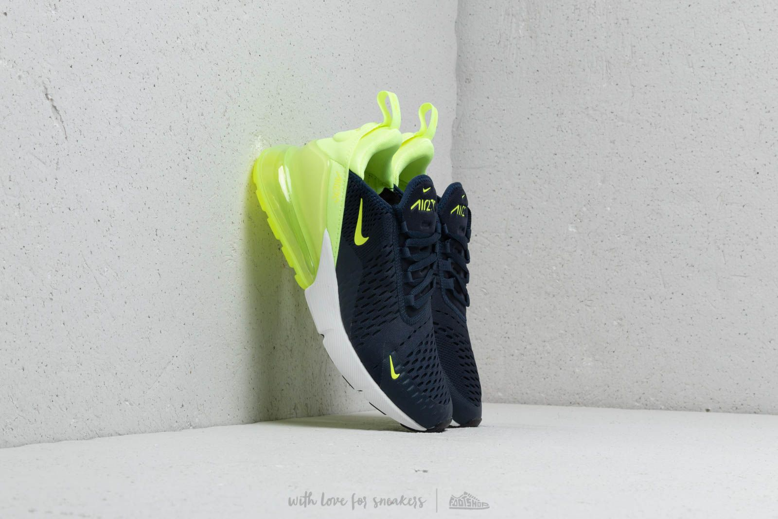 Nike W Air Max 270 Obsidian Volt Glow Volt Glow | Footshop