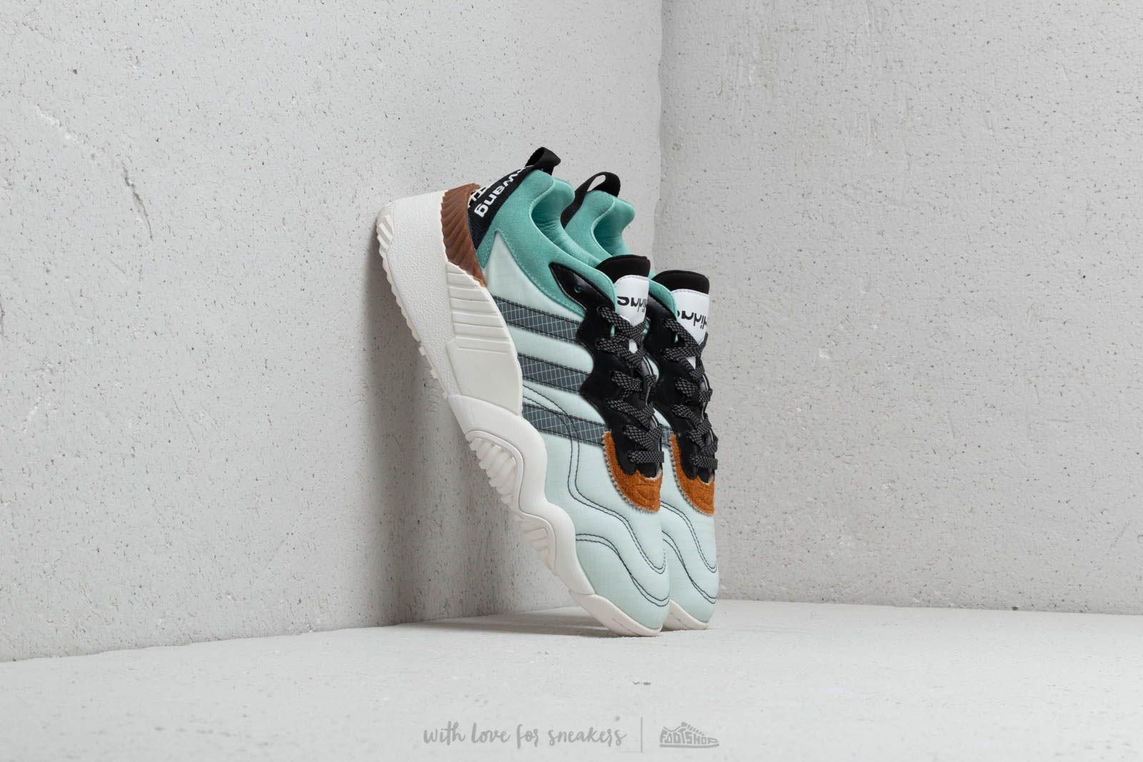 f825045e46e adidas x Alexander Wang Turnout Trainer Clear Mint/ Core Black/ Clear Mint  | Footshop