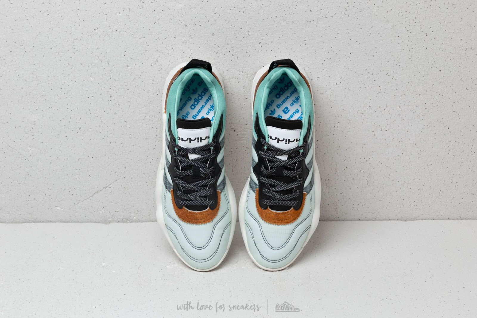 size 40 ffec6 df9bd Adidas Aw Turnout Trainer Alexander Wang Clear Mint Core Bla