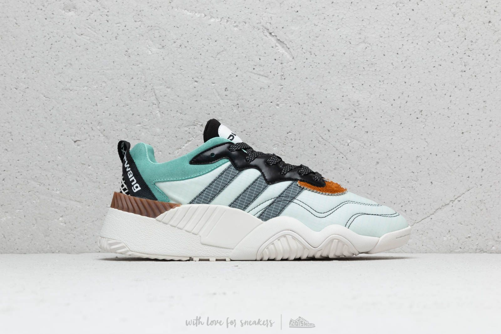 adidas x Alexander Wang Turnout Trainer Clear Mint  Core Black  Clear Mint  at a 804f316c6