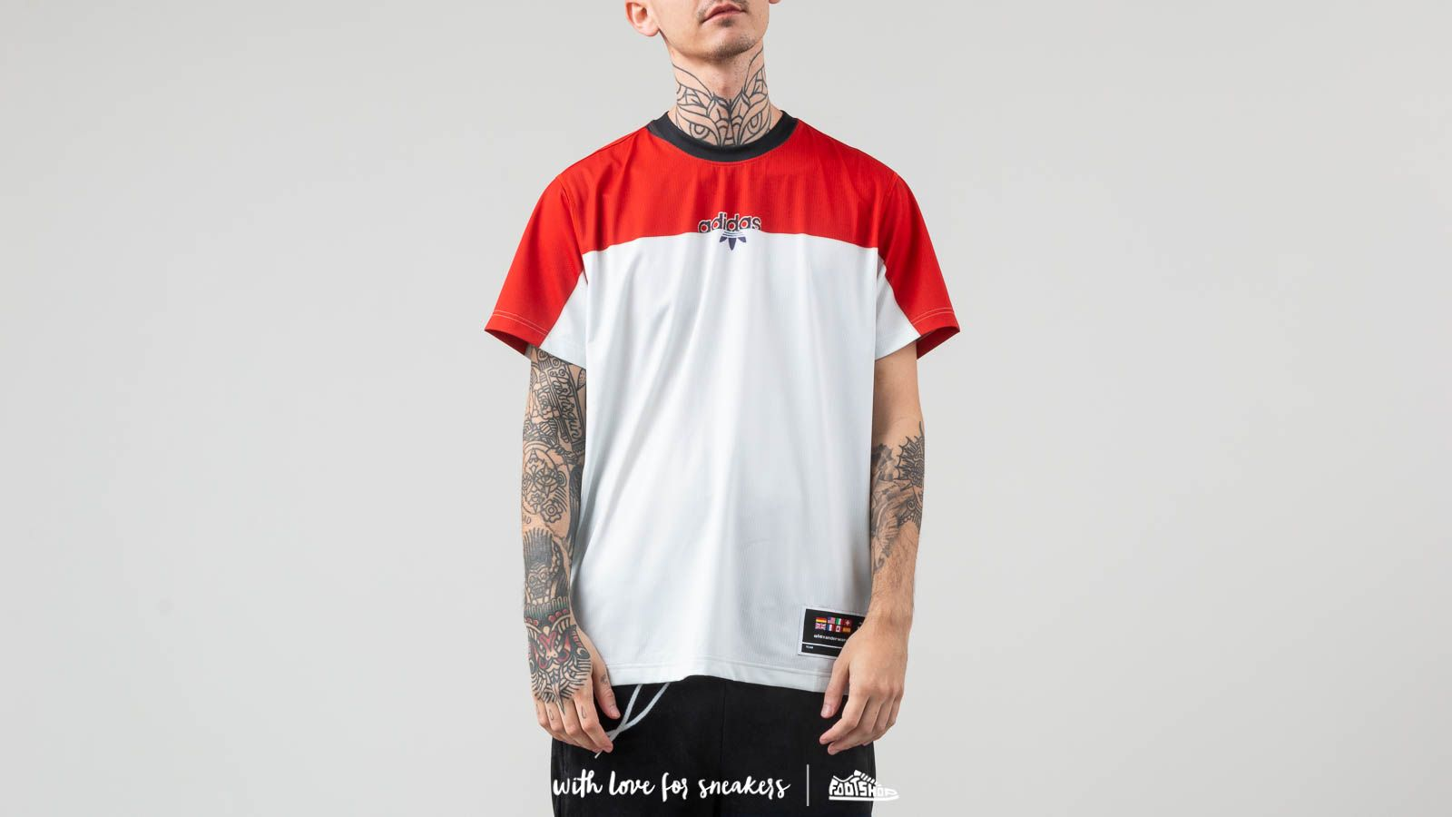 adidas x Alexander Wang Photocopy Tee St Brick/ Clear Grey at a great price 99 € buy at Footshop