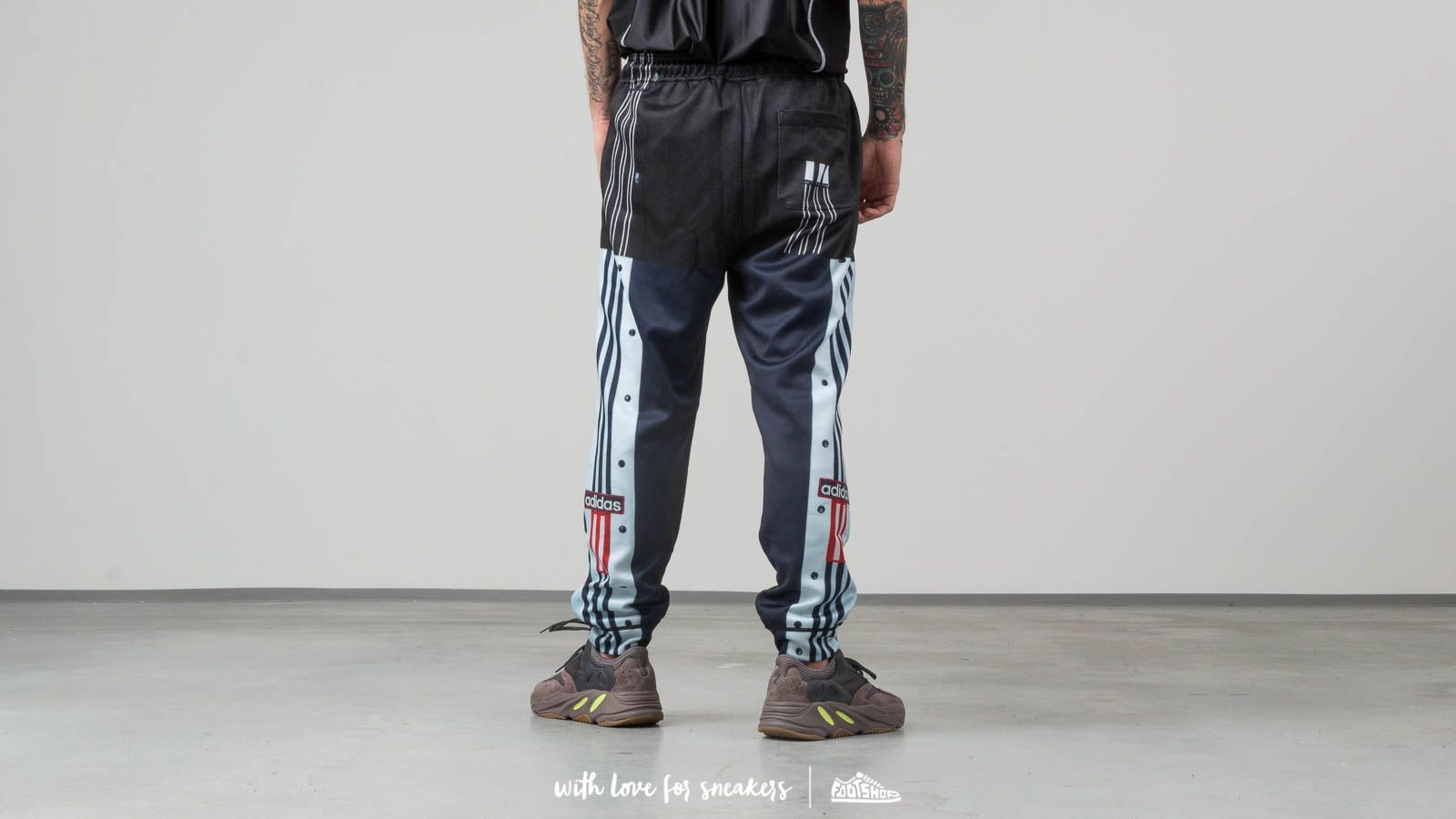 1636622dc2f adidas x Alexander Wang Photocopy Track Pants Legend Ink  Scarlet at a  great price 225