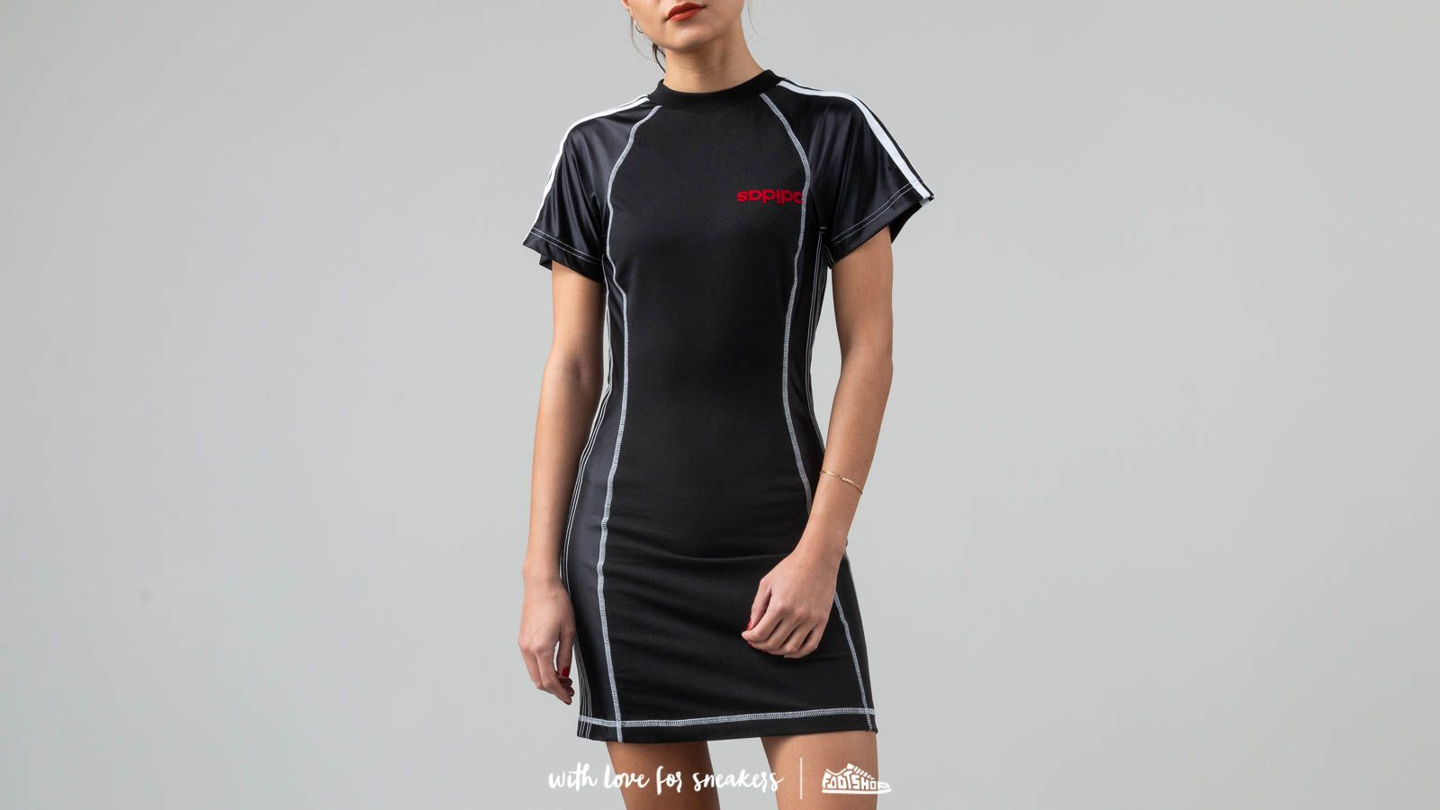 adidas x Alexander Wang Dress Black/ Power Red/ White at a great price 198 € buy at Footshop