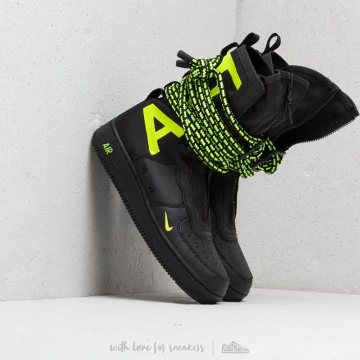 nuove nike air force 1 black e volt