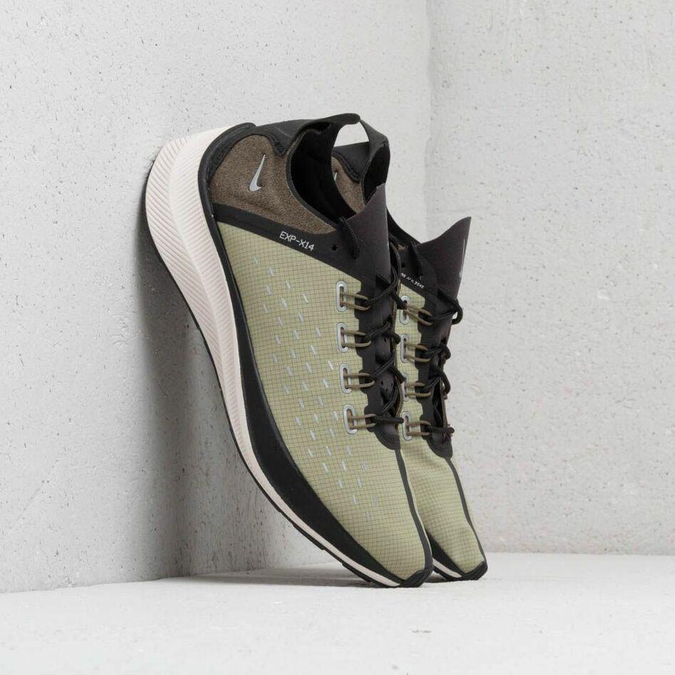 Nike EXP-X14 SE Black/ Light Cream-Medium Olive EUR 43