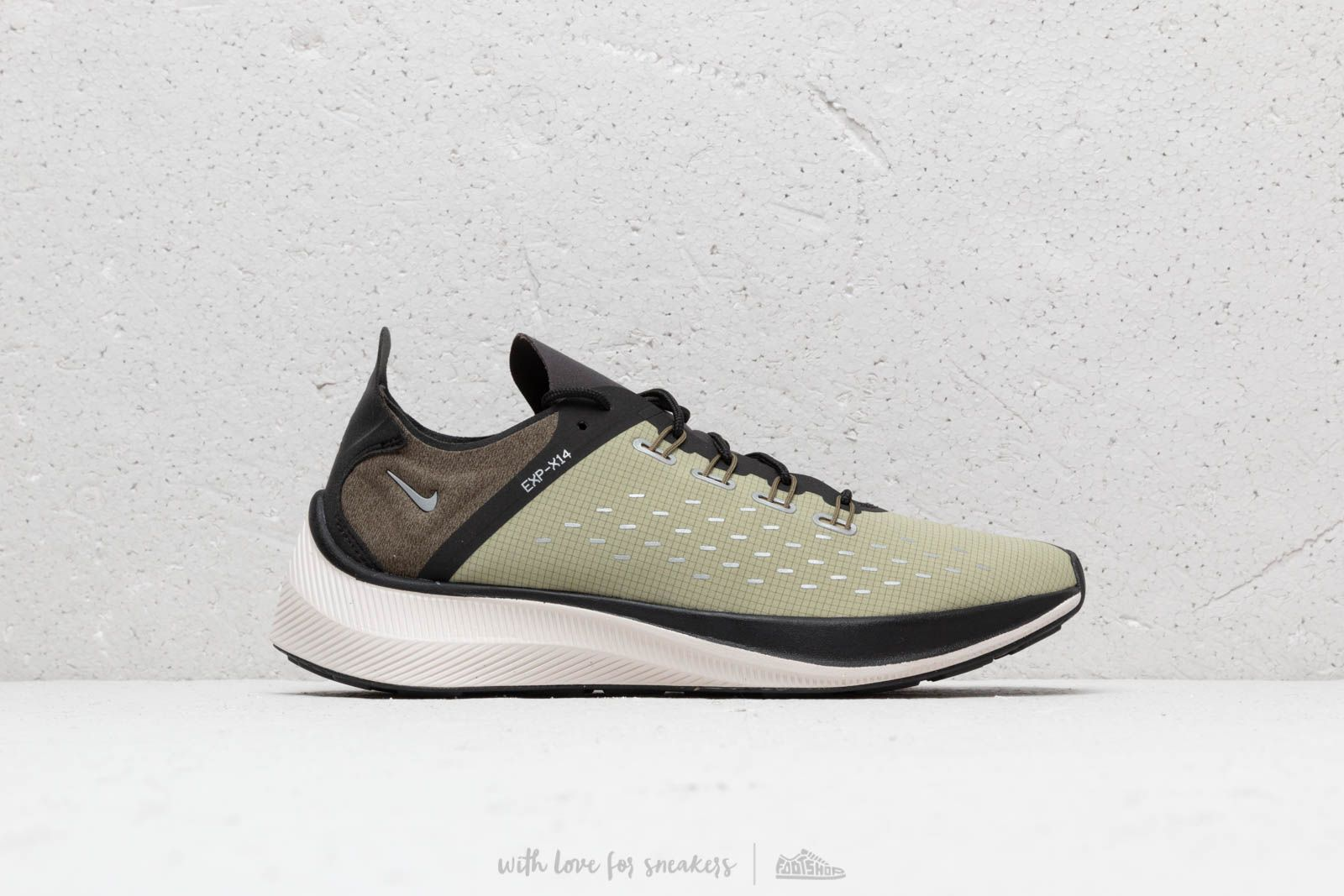 a47efdb2811d Nike EXP-X14 SE Black  Light Cream-Medium Olive at a great price