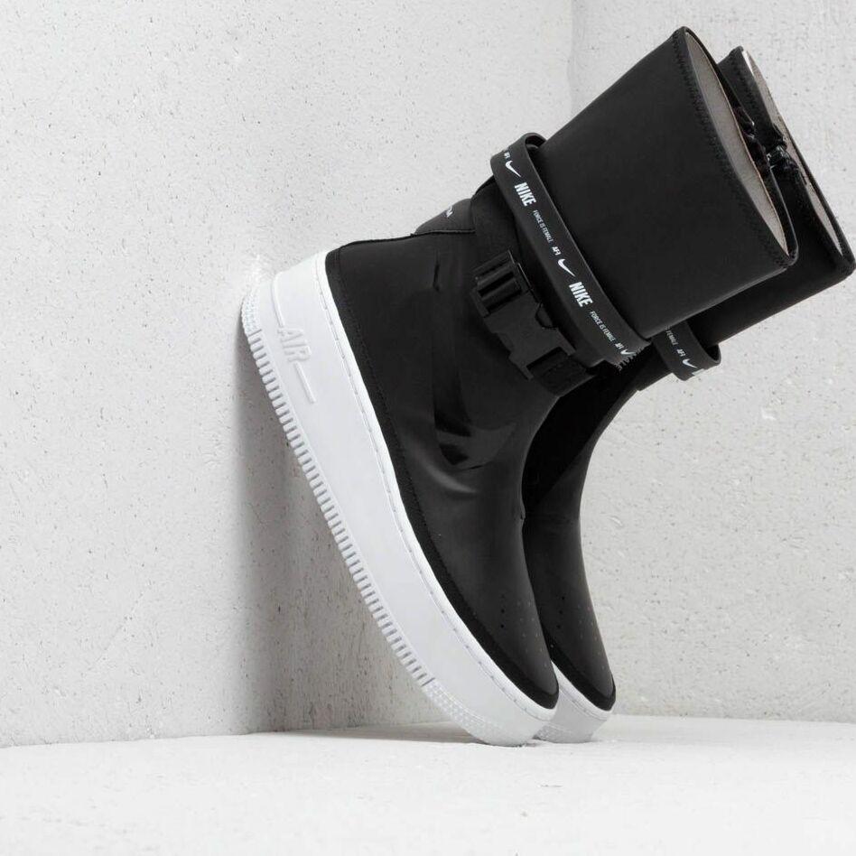 Nike W Af1 Sage Hi Black/ Black-White EUR 40.5