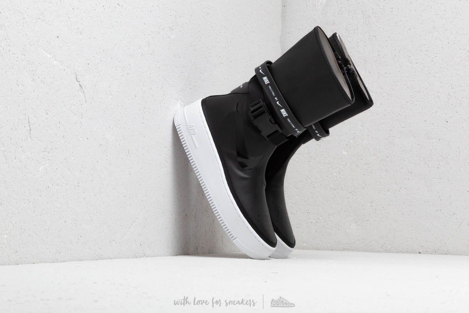 Nike W Af1 Sage Hi Black/ Black-White au meilleur prix 183 € Achetez sur Footshop