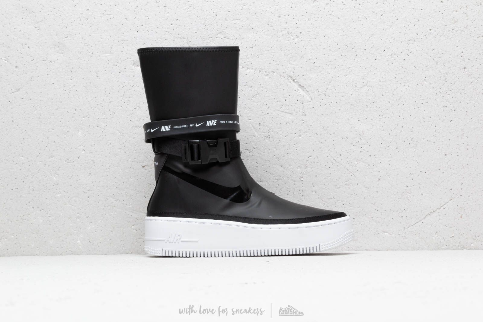 pretty nice 55266 63cef Nike W Af1 Sage Hi Black/ Black-White   Footshop