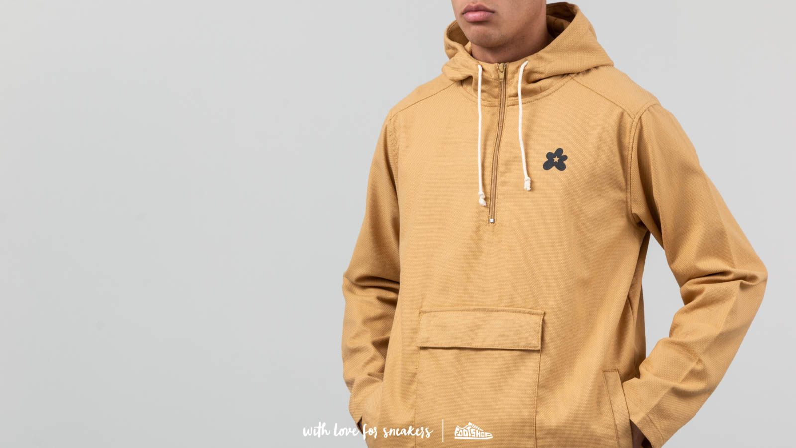 44e2f8b4ce51 Converse x Golf Le Fleur Anorak Jacket Curry at a great price  151 buy at  Footshop