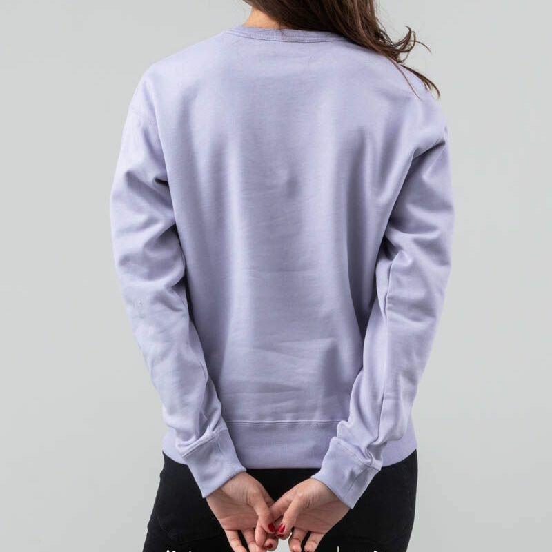 WOOD WOOD Flora Sweatshirt Crewneck Light Purple