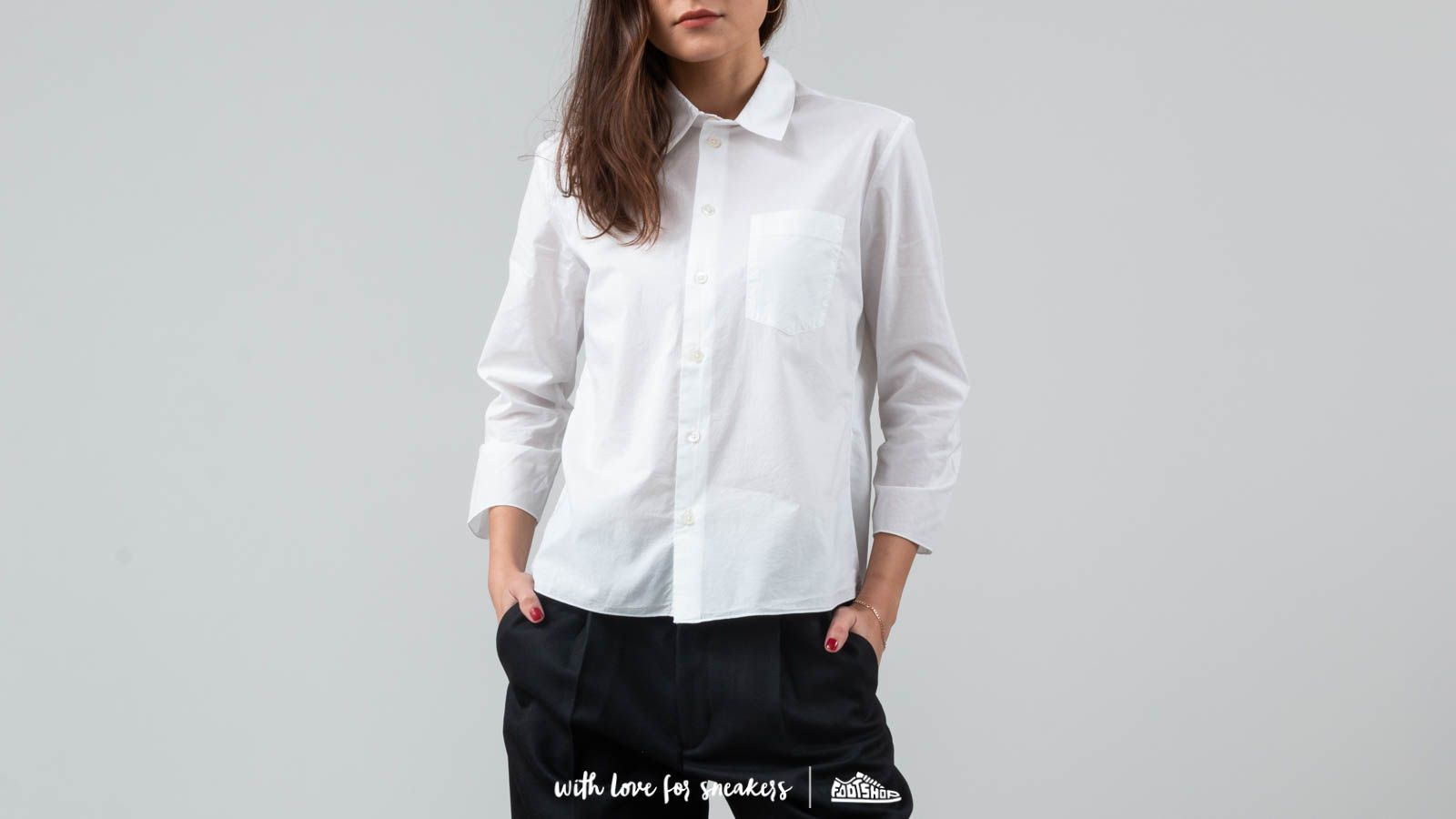 Camisas Hope Zand Shirt White