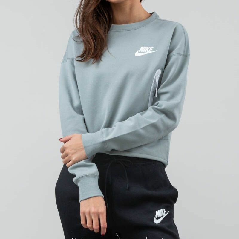 Nike Sportswear Tech Fleece Crewneck Mica Green