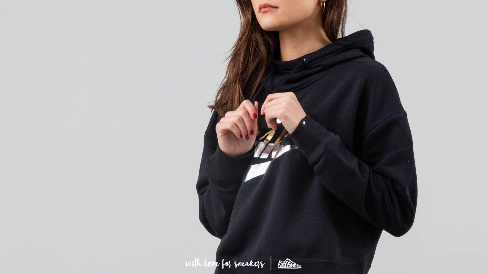 Nike Sportswear Rally Crop Hoodie Black | Footshop
