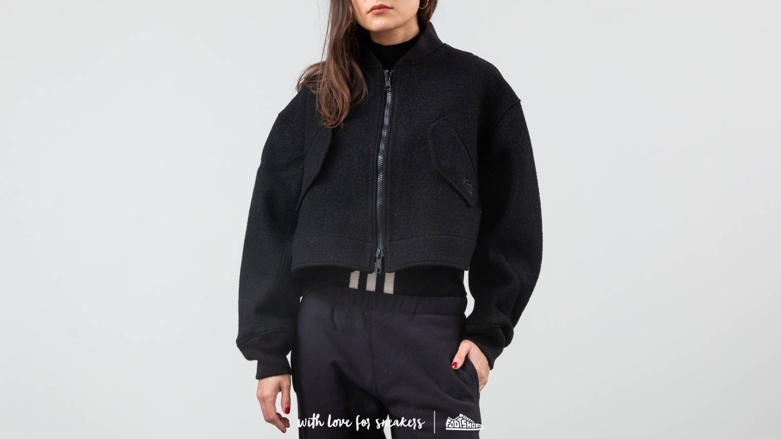 Y-3 Reversible Wool Bomber Jacket