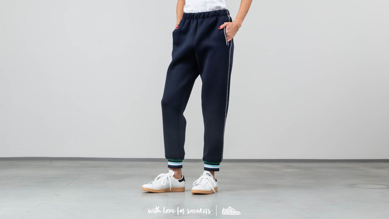 Джинси і штани Opening Ceremony Spongy Track Pants Persian Blue