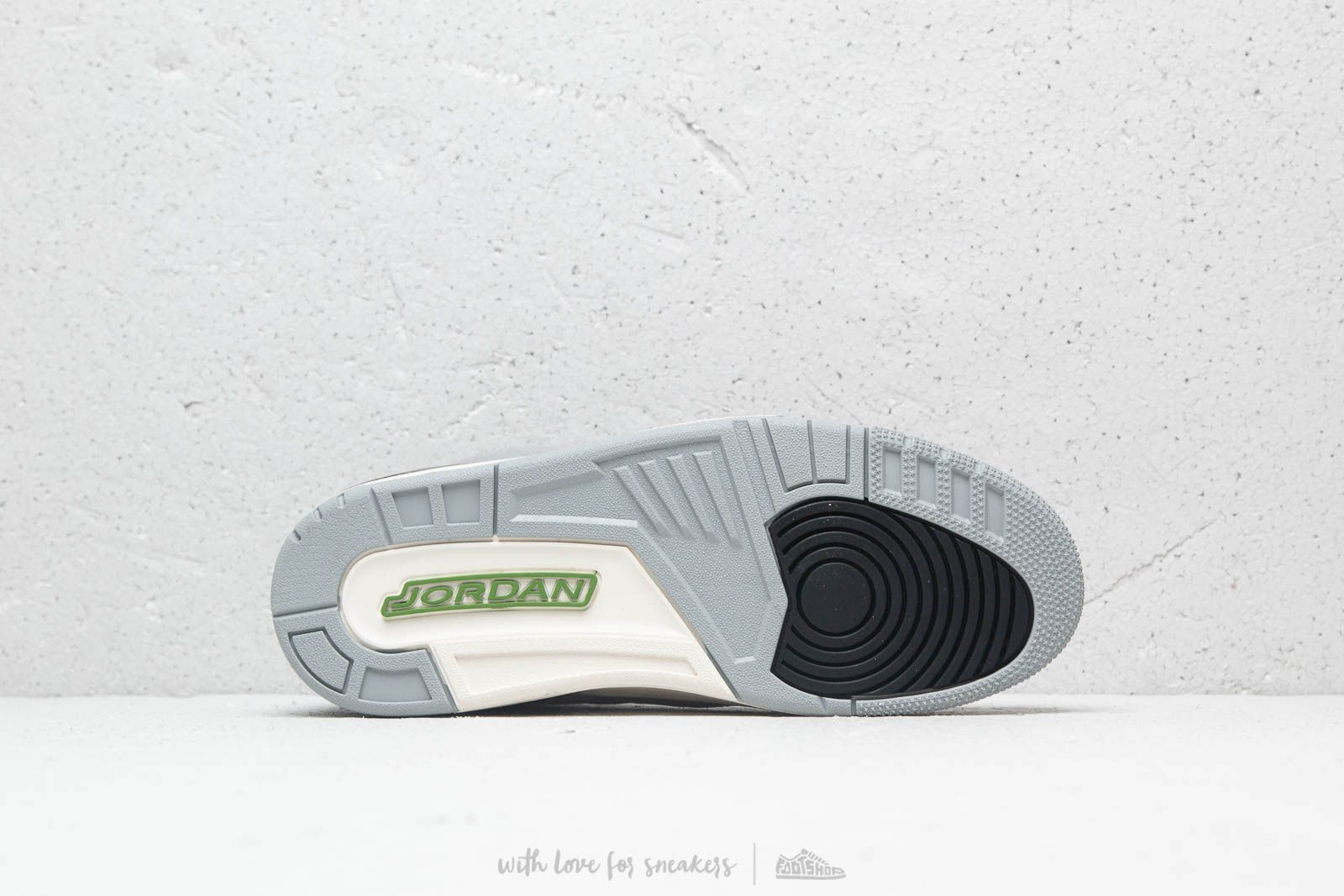 ChlorophyllFootshop Jordan Air 3 Grey Lt Smoke Retro f7vYb6gy