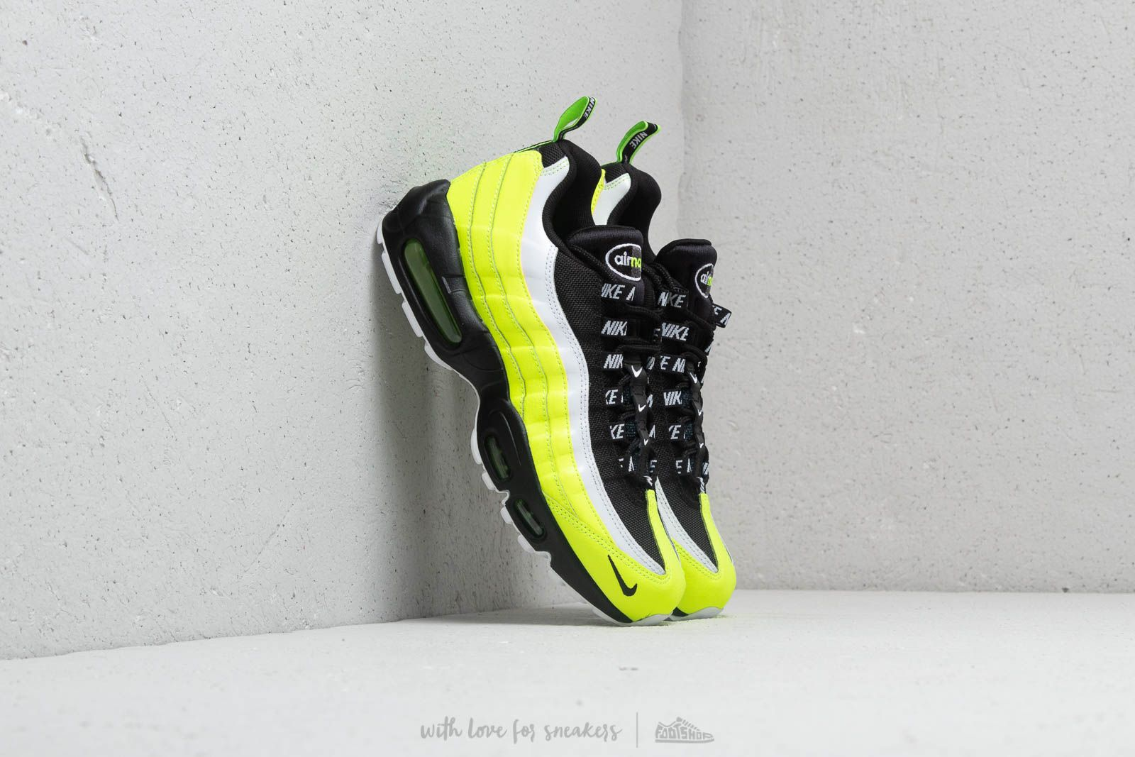 aaed883f2771 Nike Air Max 95 PRM Volt  Black-Volt Glow at a great price 172