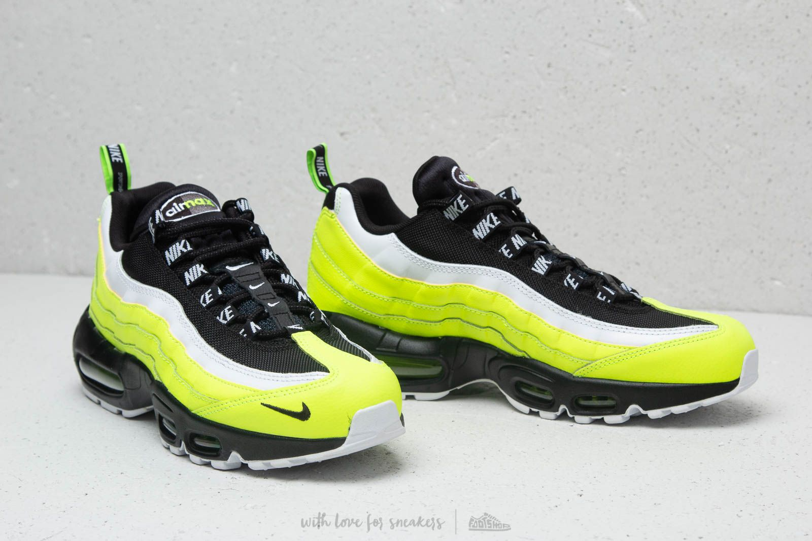 Nike Air Max 95 PRM Volt/ Black-Volt Glow at a great price 172