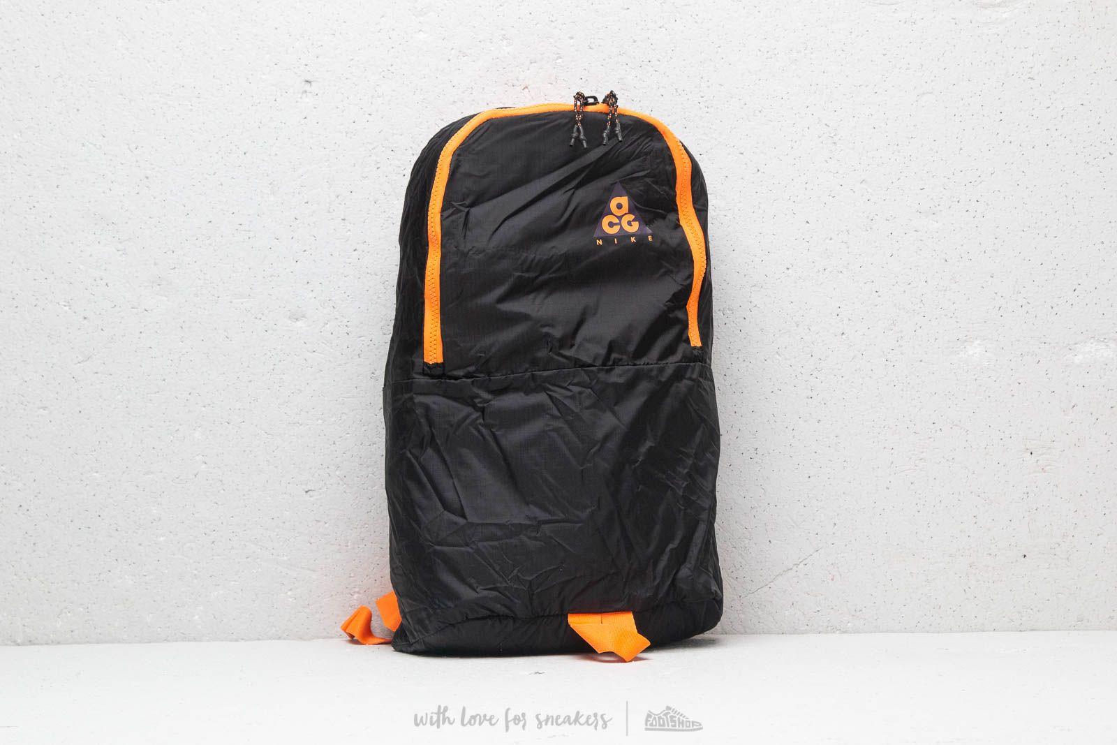 Nike Black OrangeFootshop Acg Backpack Packable xBQCshrtd