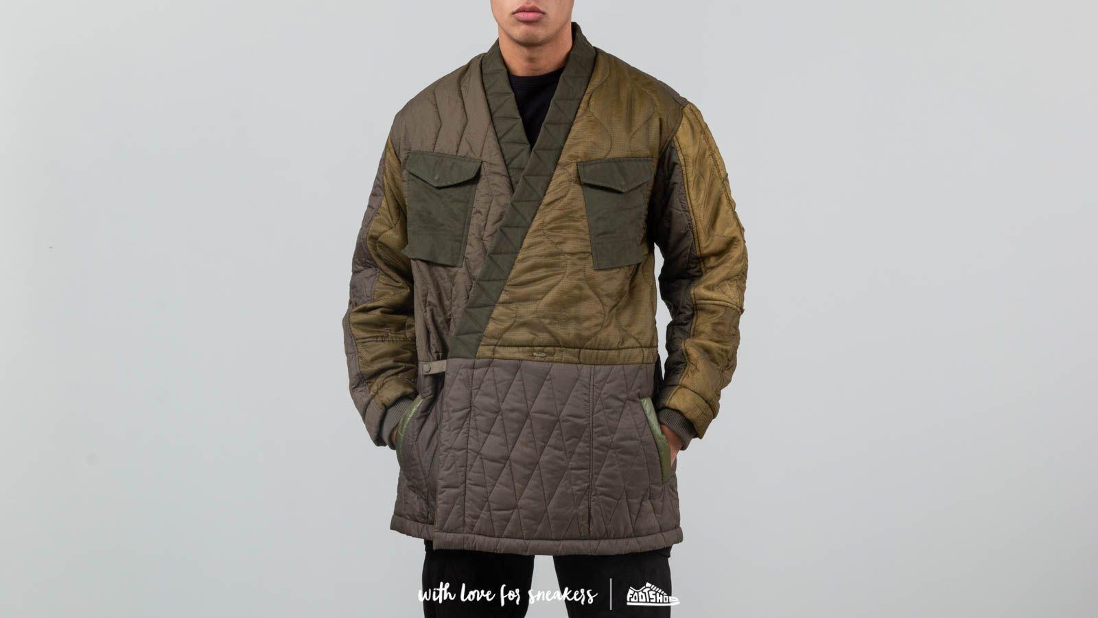 Maharishi Upcycled Flight Kimono Jacket