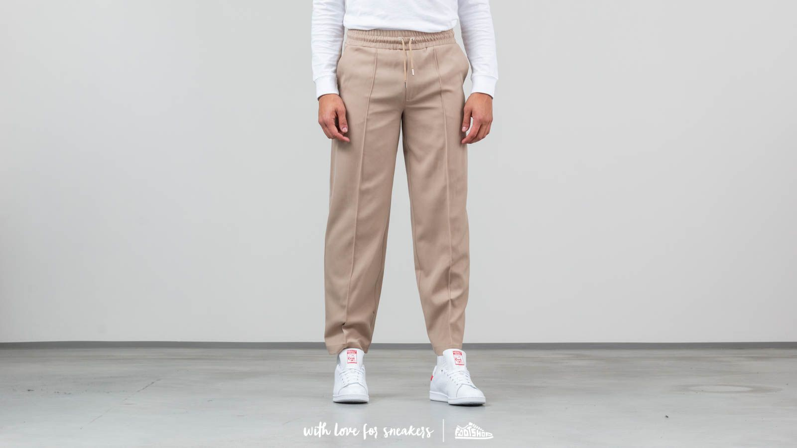 Džínsy a nohavice AXEL ARIGATO Shiro Trousers Beige