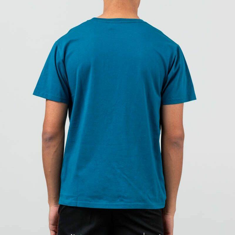 WOOD WOOD Sami T-Shirt Teal, Blue