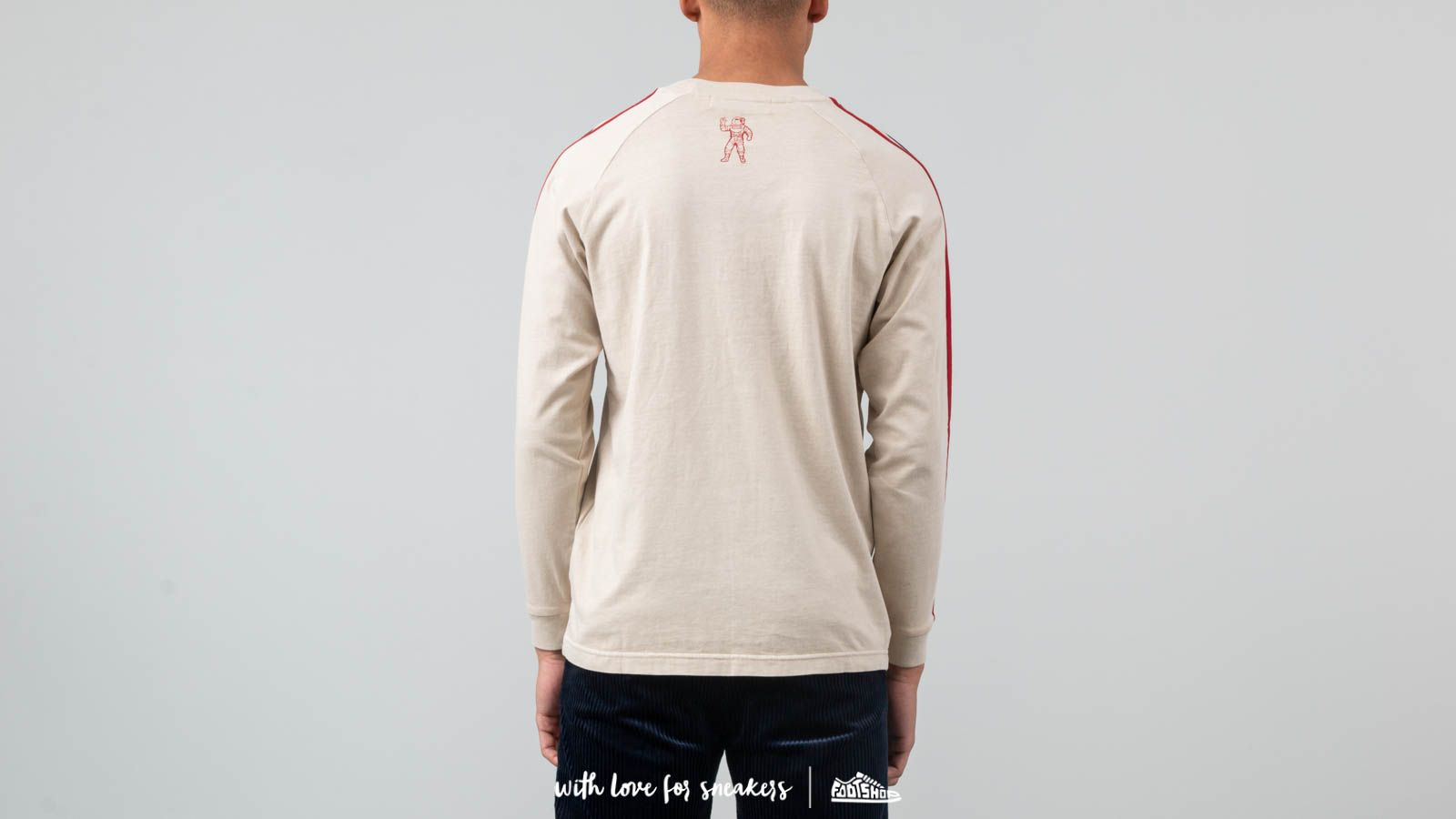 4bc3b32d264 Billionaire Boys Club Racing Long Sleeve T-Shirt Off-White at a great price