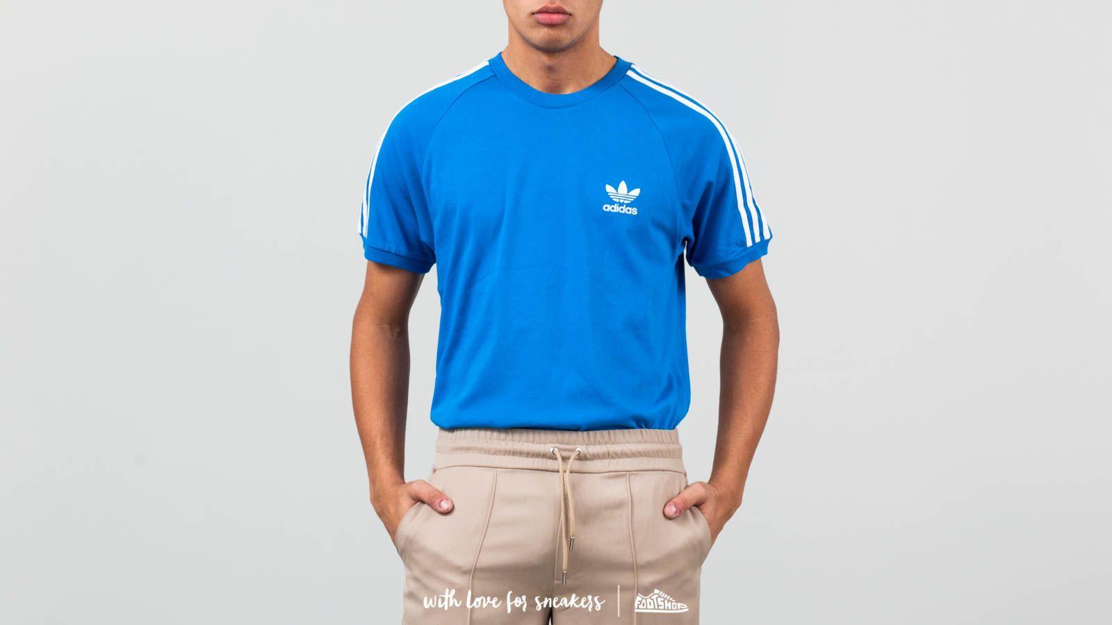 1f01242a92 adidas 3-Stripes Tee Blue Bird | Footshop