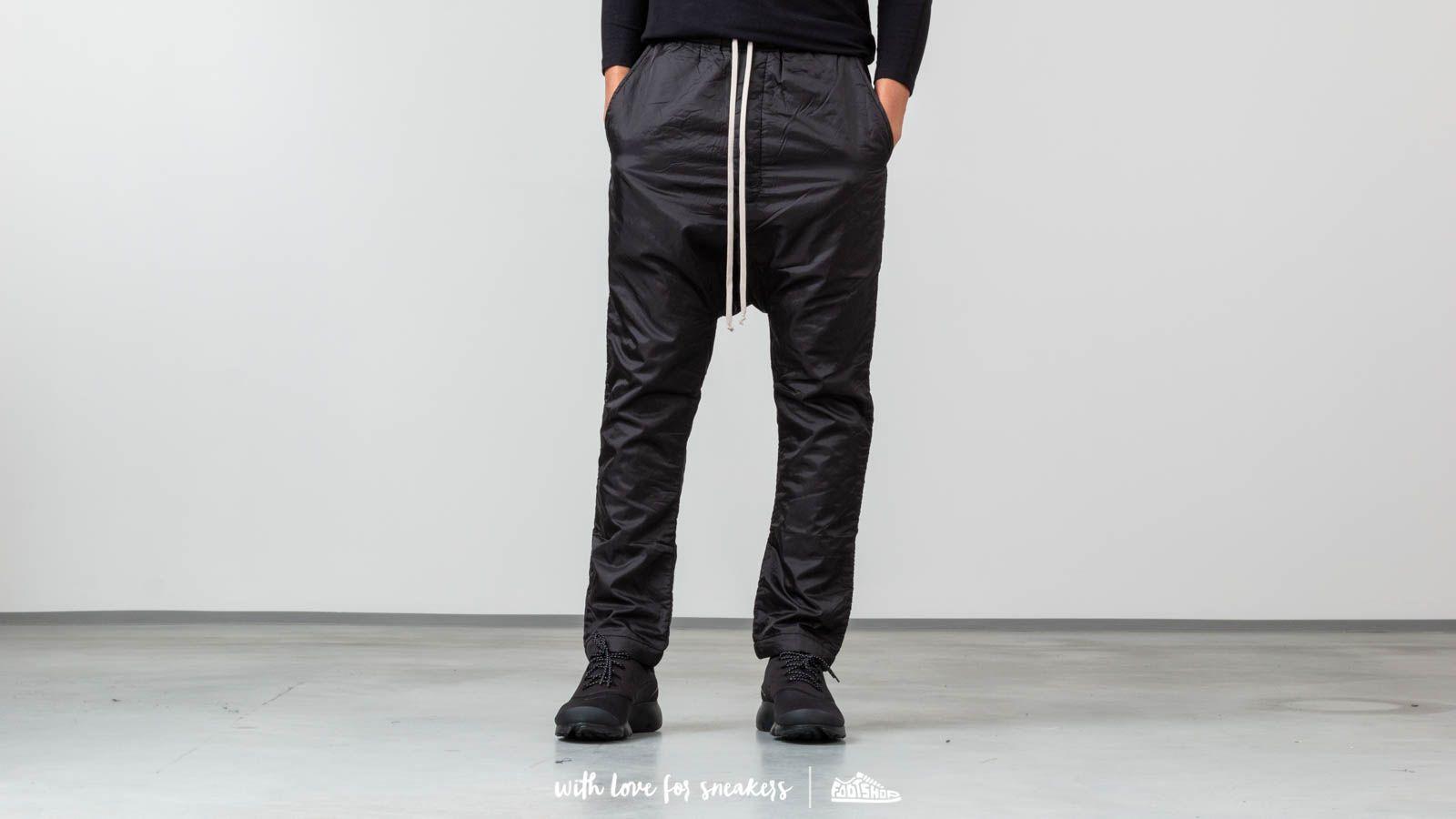 Rick Owens DRKSHDW Drawstring Long Wovenpants