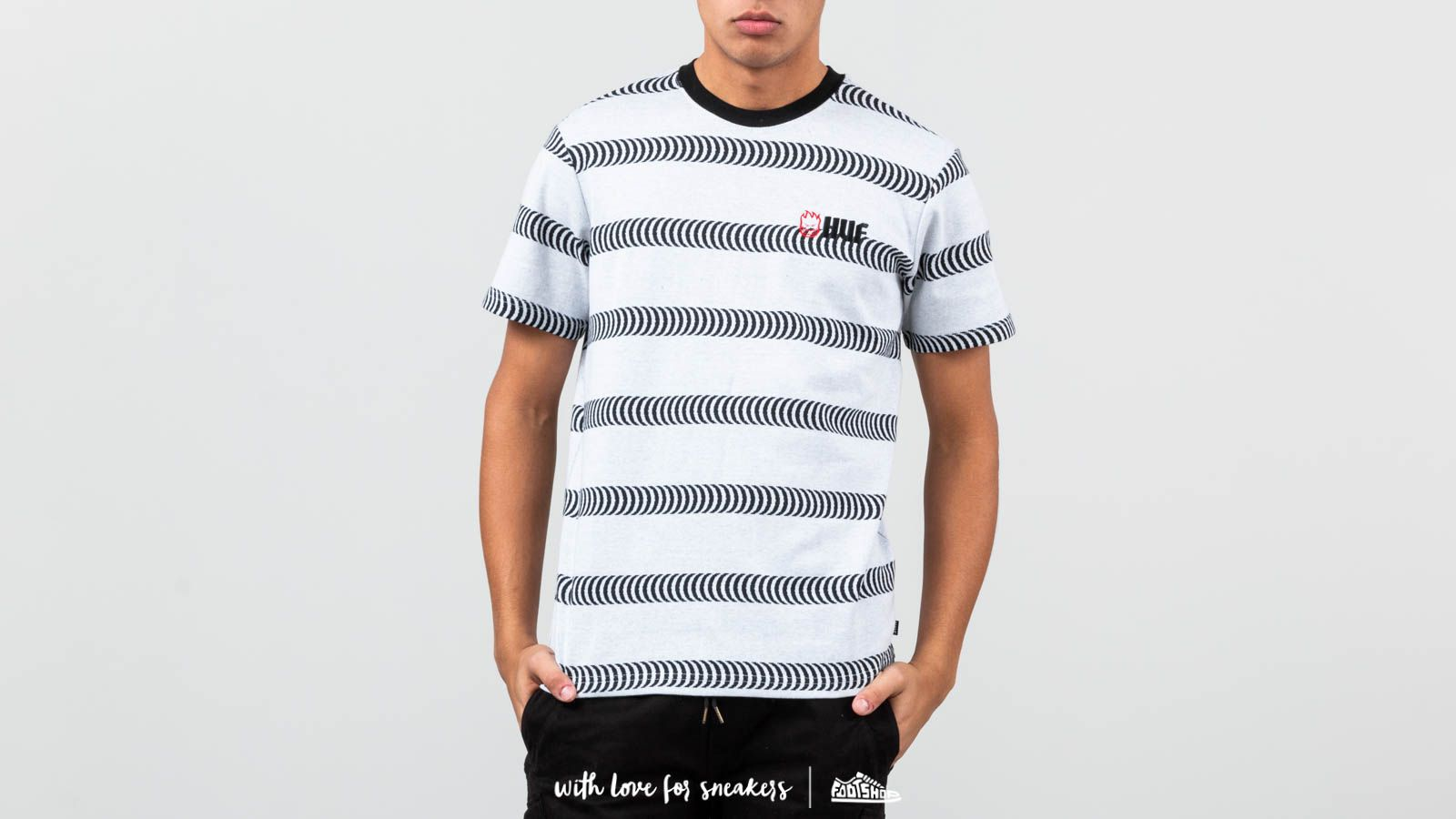 HUF x Spitfire Striped Knit Shirt