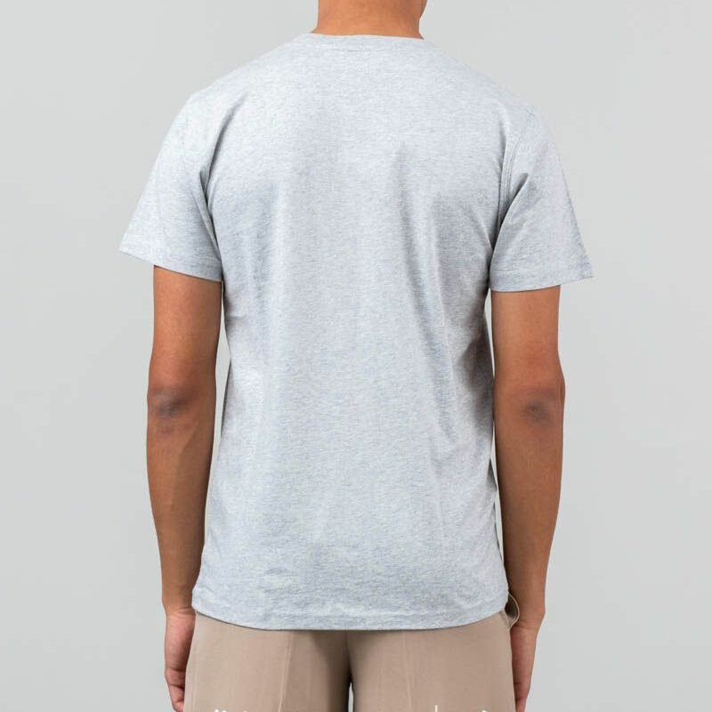 Norse Projects Niels Classic Ivy Logo Tee Light Grey Melanie, Gray