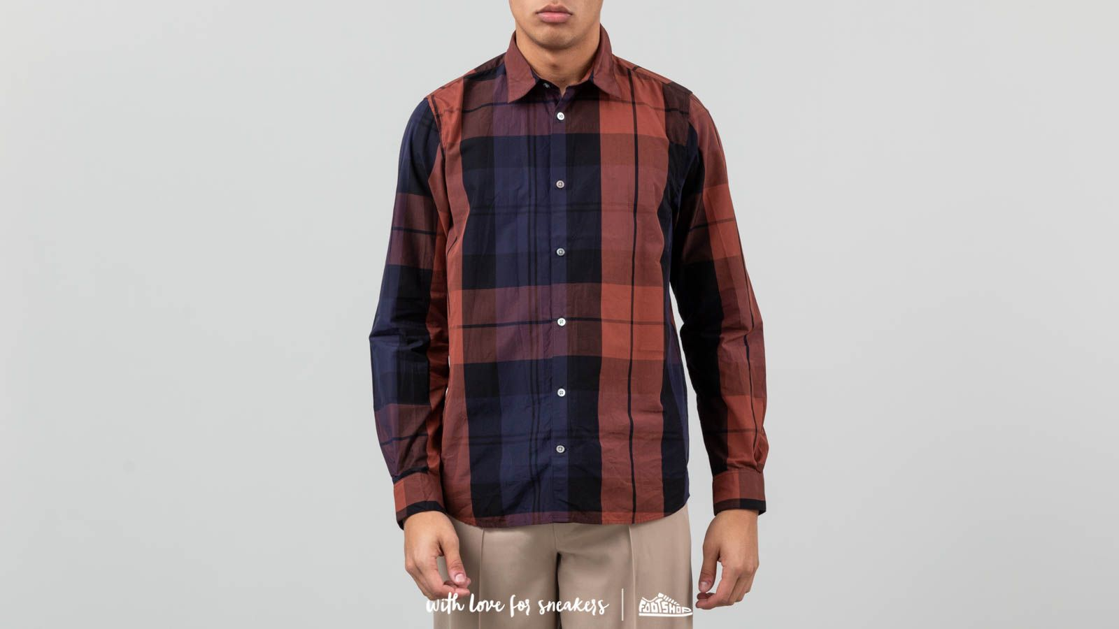 Norse Projects Hans Dry Touch Overcheck Shirt