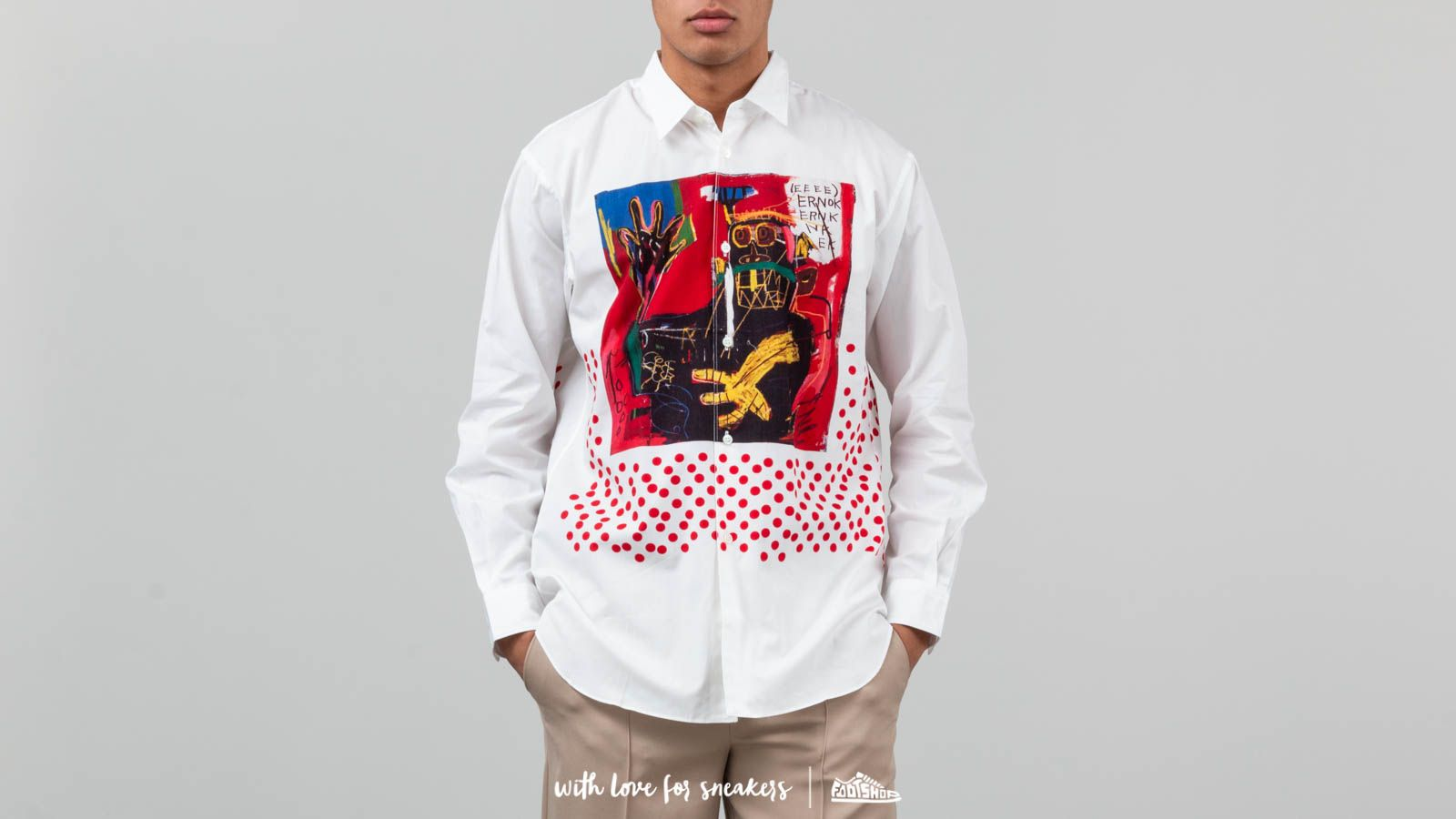 Comme Des Garçons SHIRT x Jean-Michael Basquiat Longsleeve Shirt