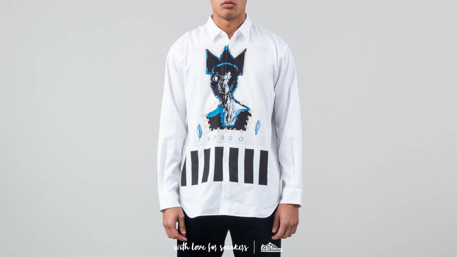 Comme des Garçons Shirt x Jean-Michel Basquiat Shirt White at a great price 217 € buy at Footshop
