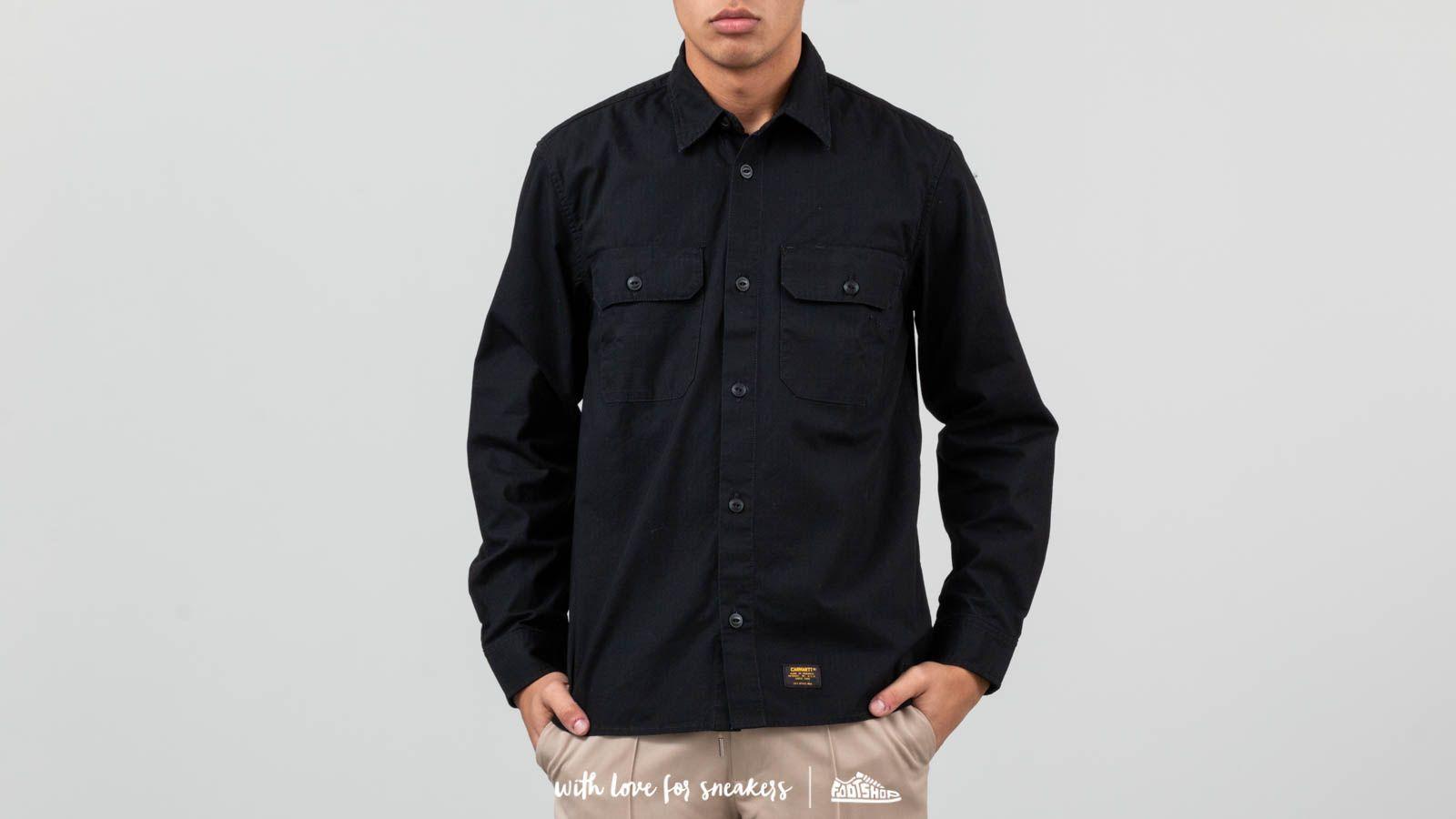 Košile Carhartt WIP Mission Shirt Black