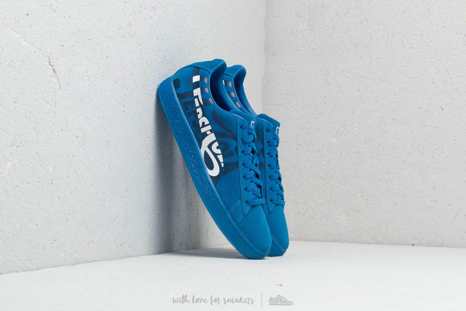 6e99193af164ea Puma x Pepsi Suede Classic Clean Blue  Puma Silver at a great price 99 €