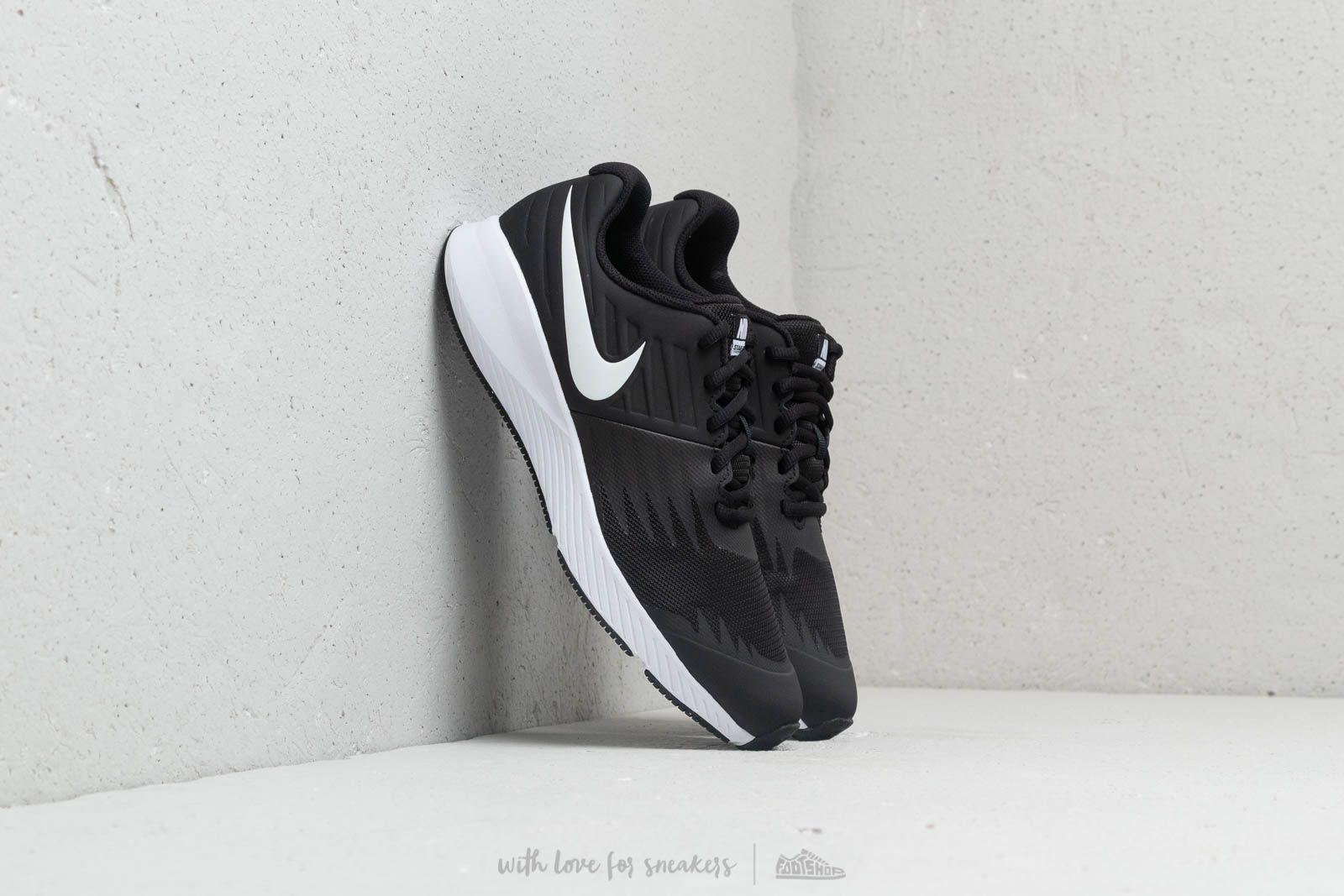 Nike Star Runner (GS) Black/ White-Volt