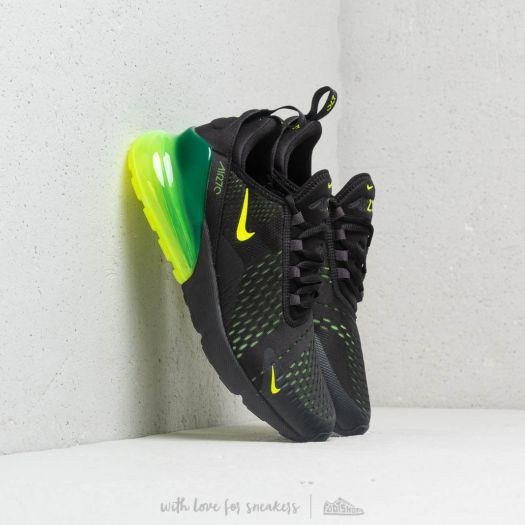 Air Max 270 React Black Oil Grey Oil Grey Black Férfi