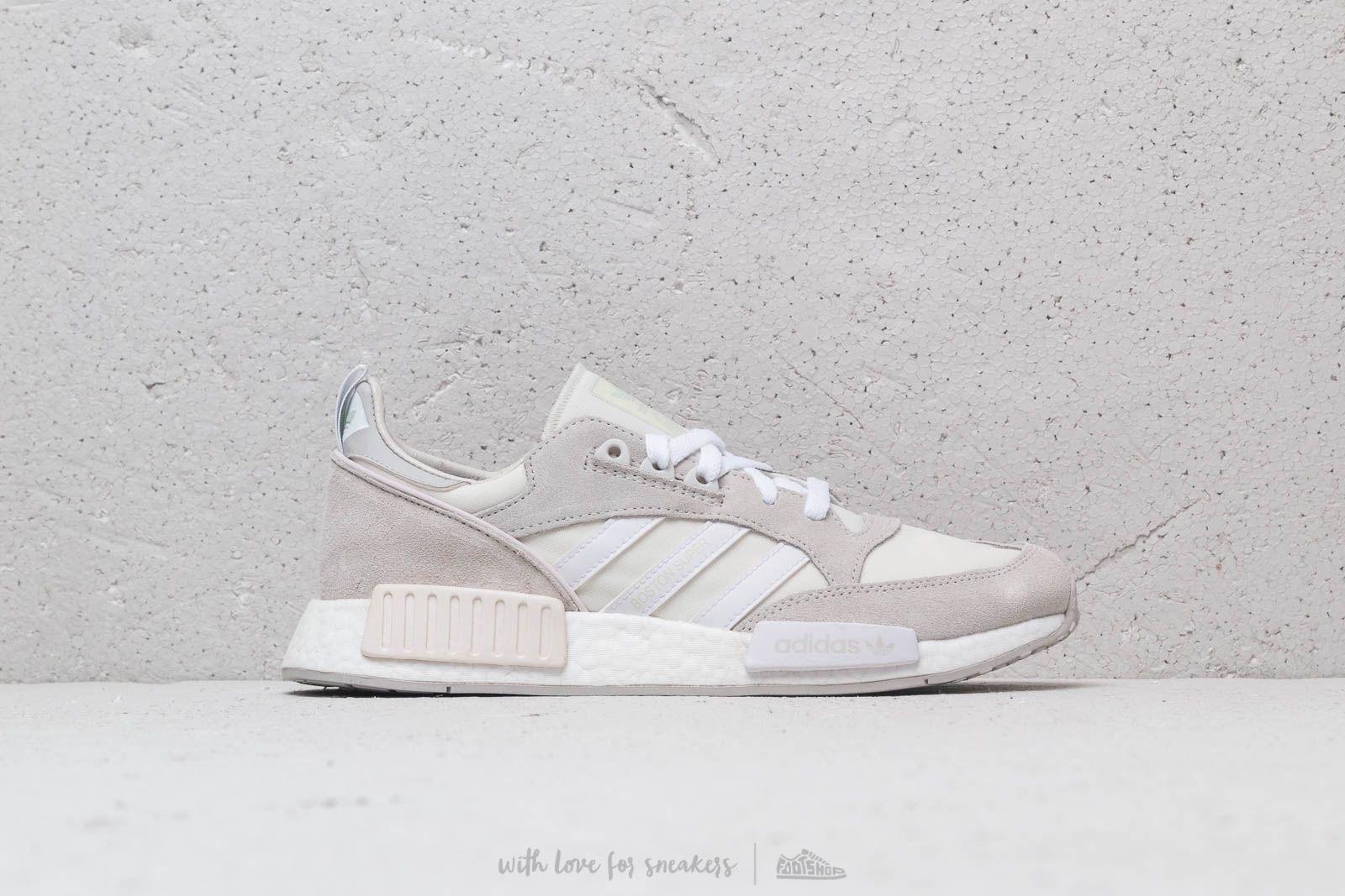 adidas Boston Super x R1 Cloud White Ftw White Grey One | Footshop