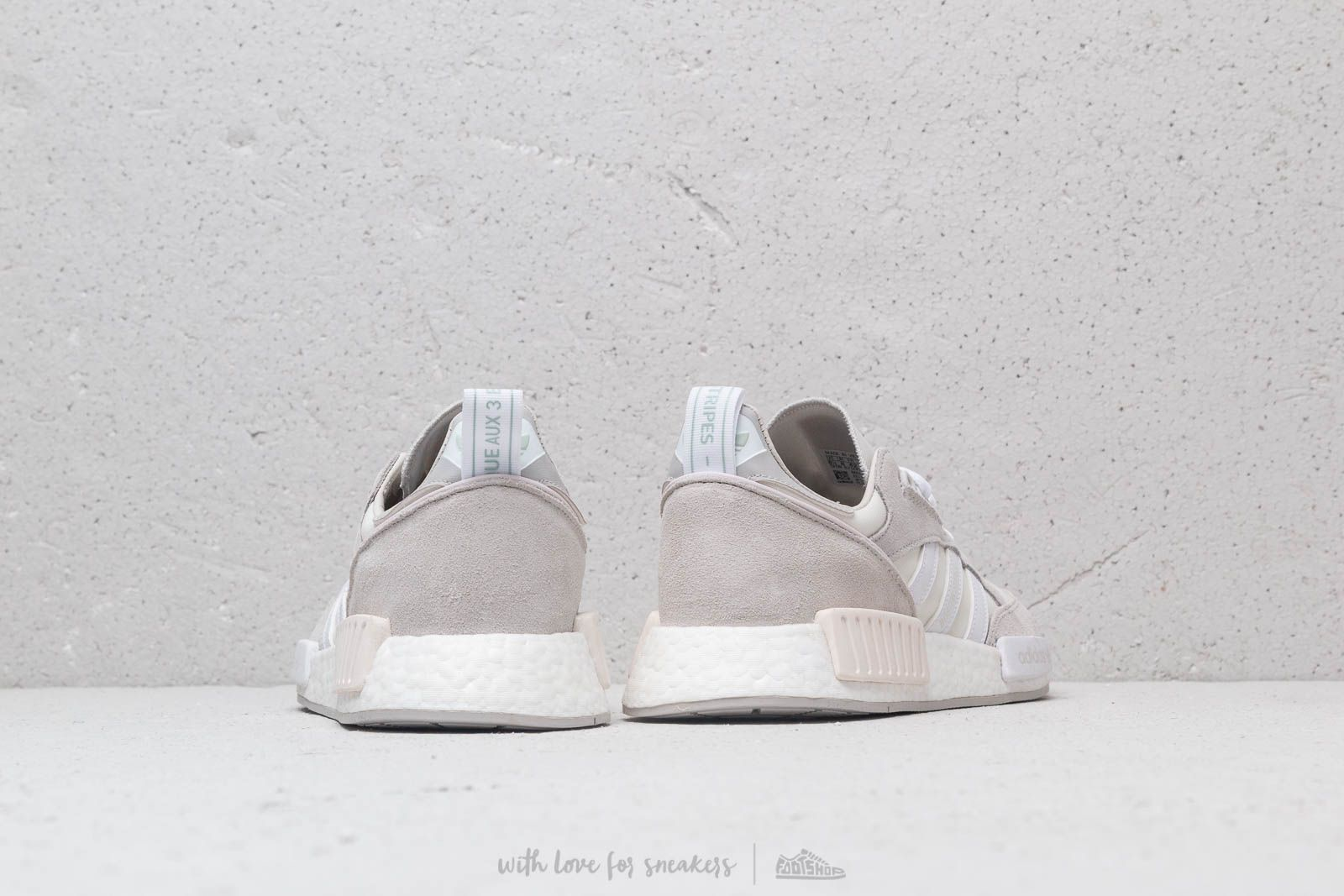 100% authentic 42d1e aa5c3 adidas Boston Super x R1 Cloud White Ftw White Grey One a muy buen