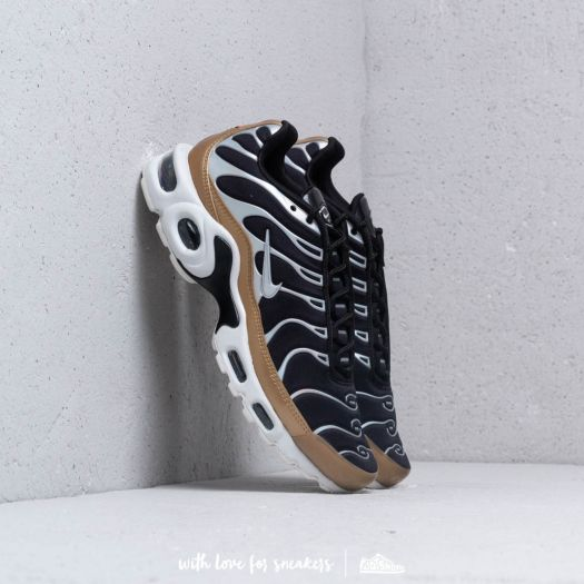 nike air max plus aluminium noir