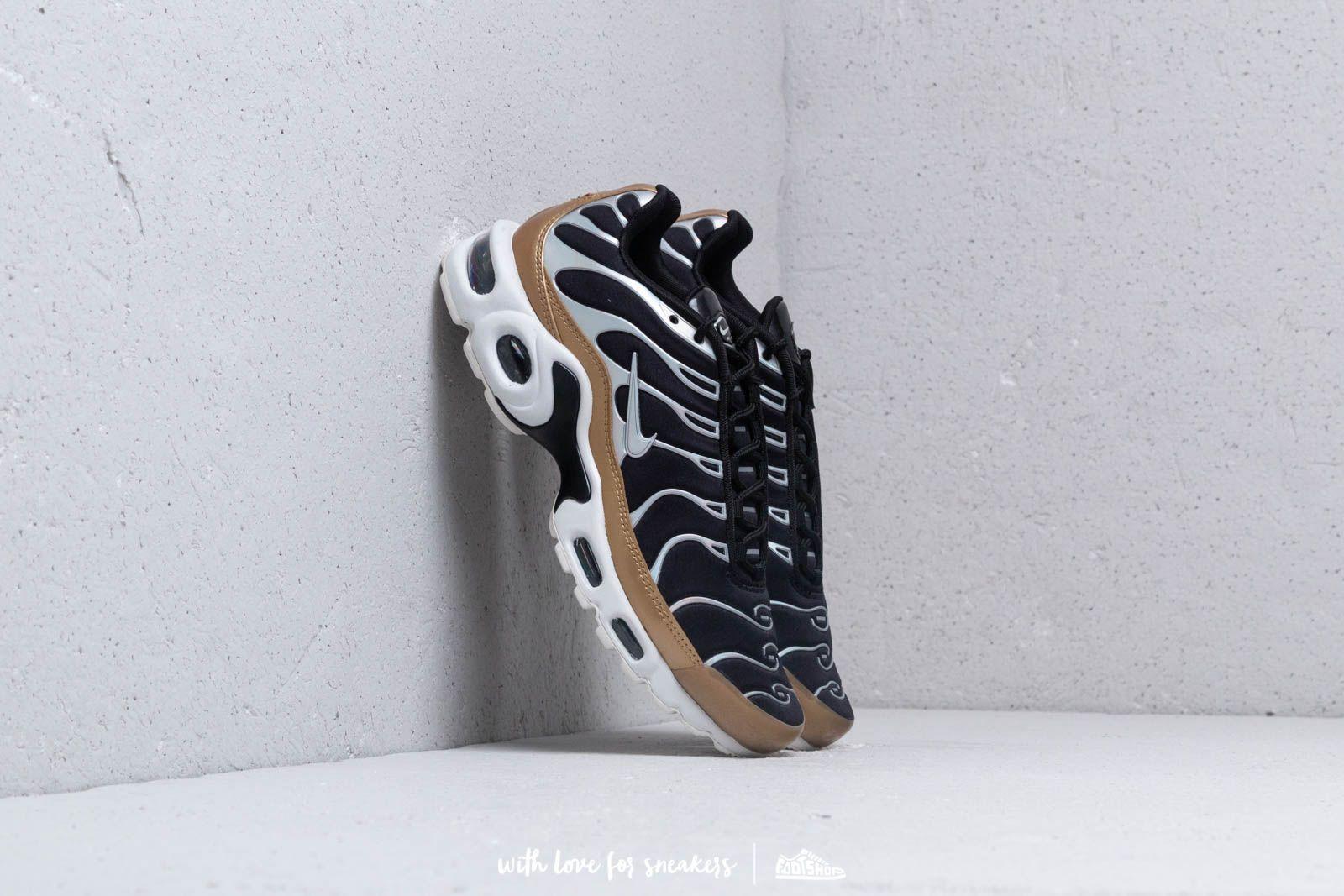 Dámské tenisky a boty Nike Air Max Plus Wmns Black/ Aluminium-White-Aluminium