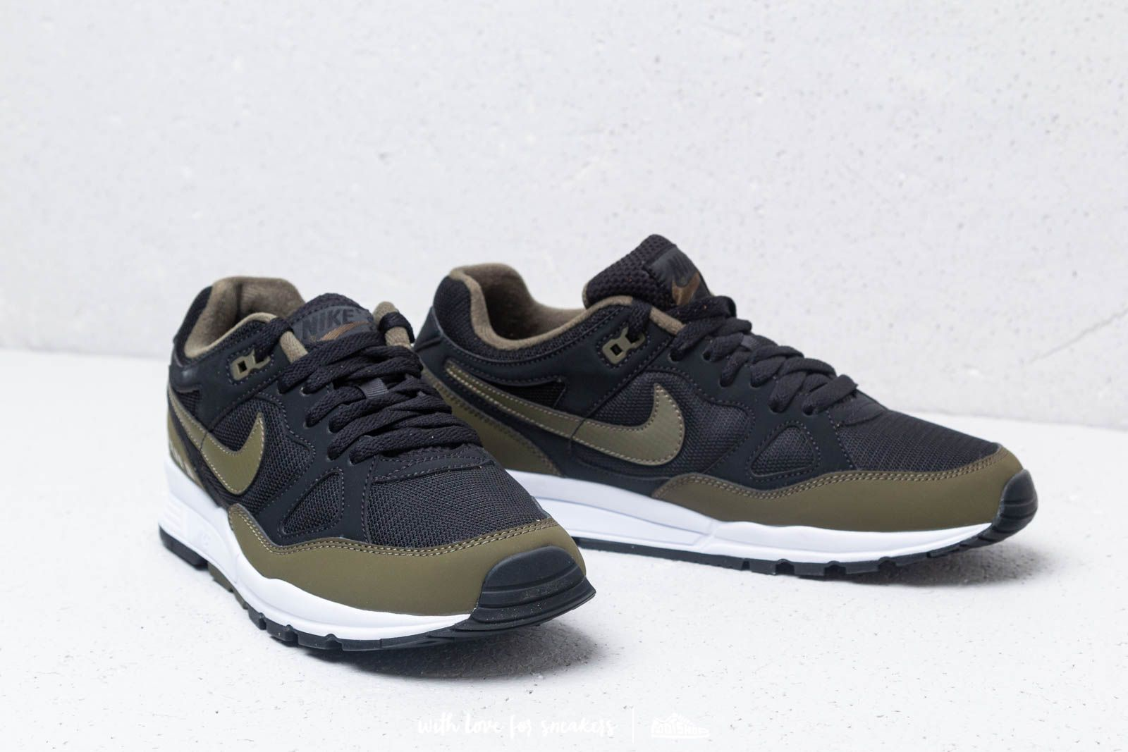 Nike Air Span II Black Olive Canvas White | Footshop