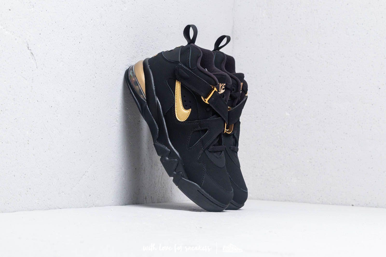 4e46f046e3f1 Nike Air Force Max CB Black  Metallic Gold
