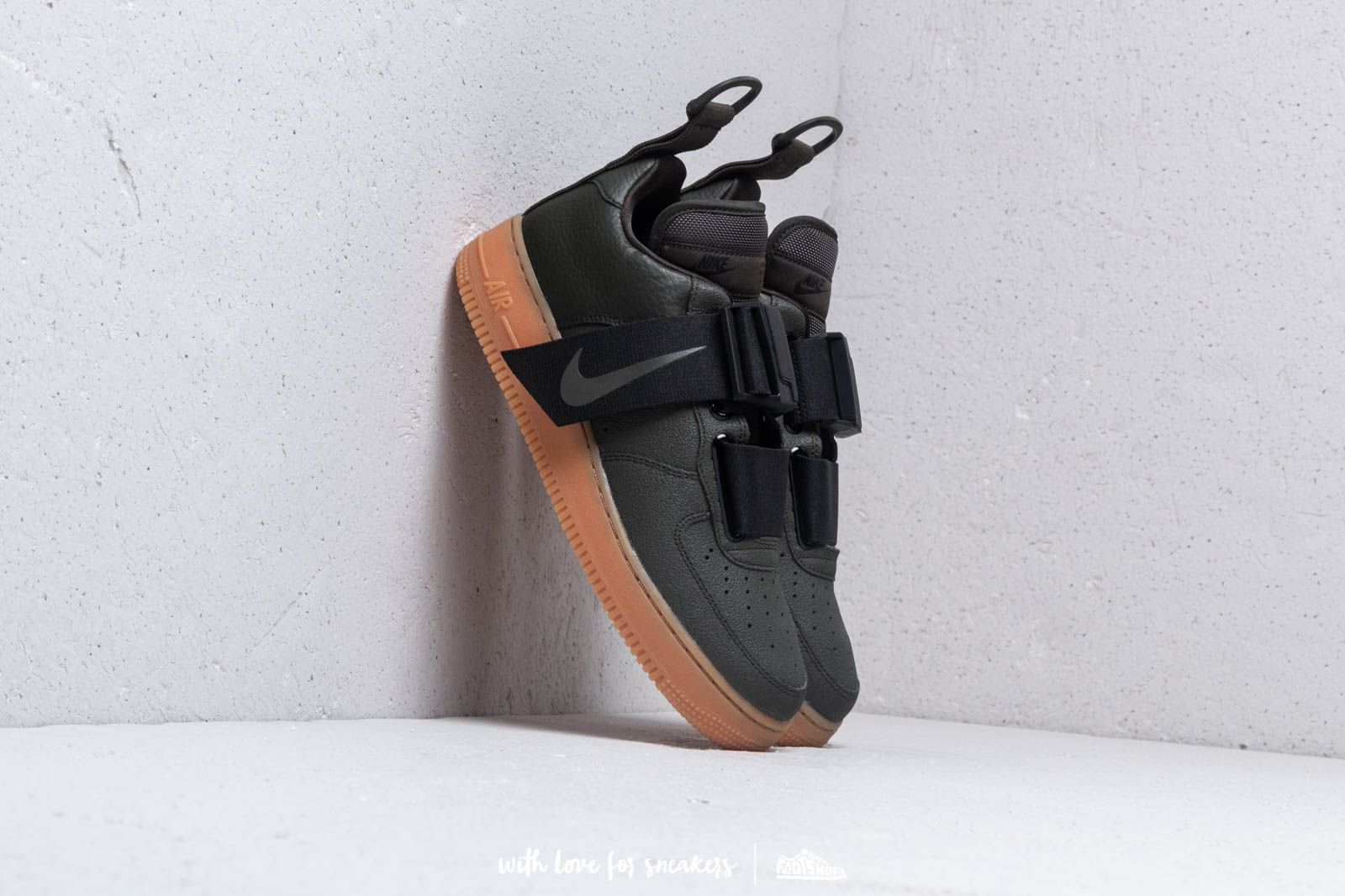 d2b50b267997c4 Nike Air Force 1 Utility Sequoia  Black-Gum Med Brown at a great price