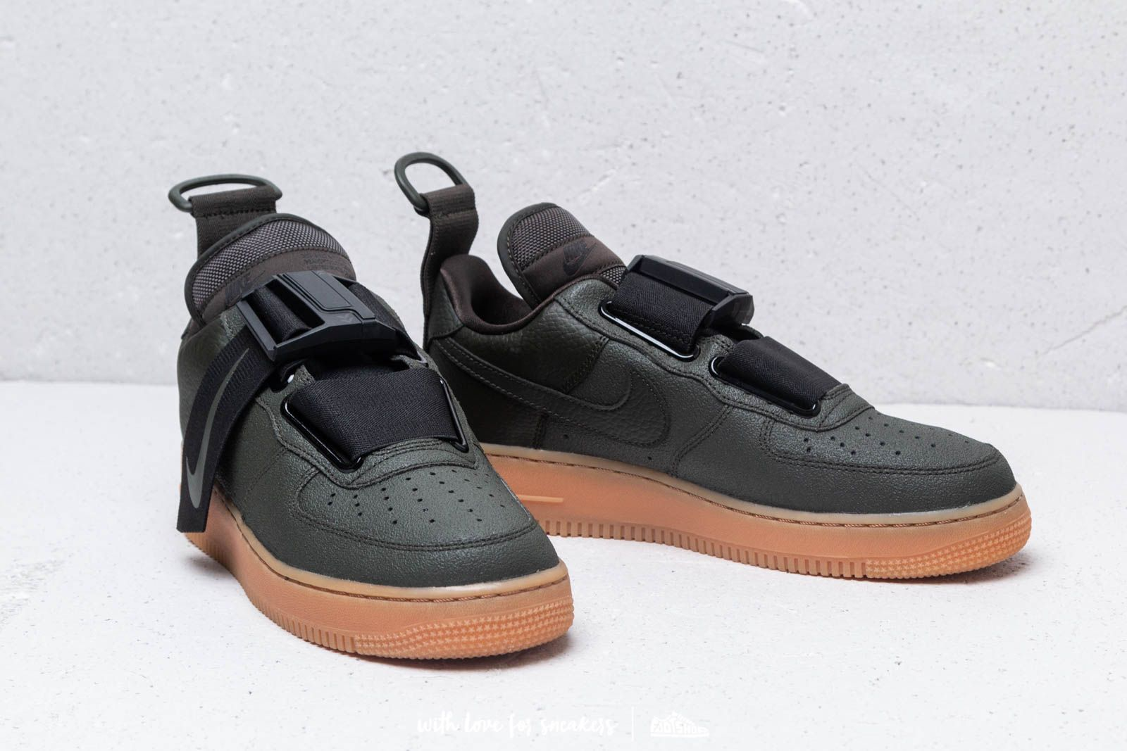 Nike Air Force 1 Utility Sequoia Black Gum Med Brown | Footshop
